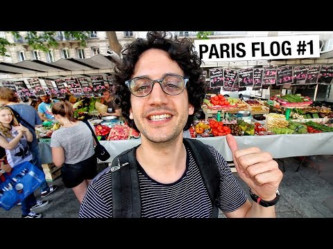 Immersive French Market Experience... Paris Flog #1