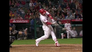 Mike Trout Home Run Swing Slow Motion 2018-2(#13)