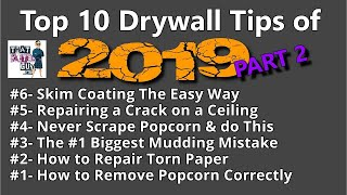 My Top 10 Home Improvement Tips of 2019- PART TWO