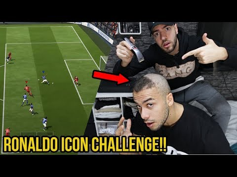 Extreme Fifa 18 Ronaldo Icon Challenge vs Wakez + Kranke Bestrafung!!
