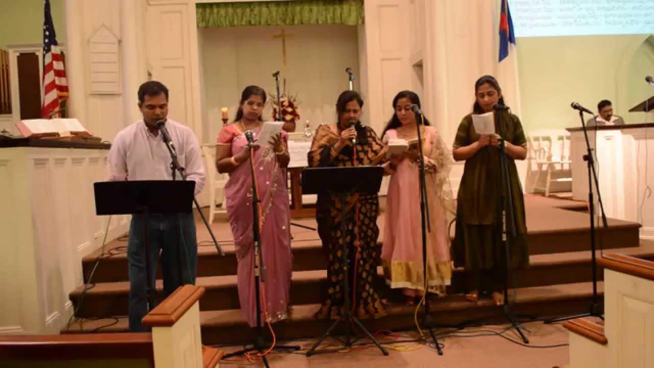 Anni Kaalambula || Telugu Christian Worship || అన్ని కాలంబుల నున్న యెహోవా || utccnj choir