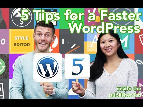5 Tips for a Faster WordPress Site