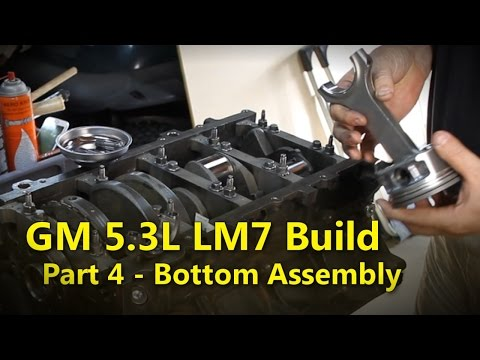 LS 5.3L Build Part 4 Bottom End Assembly | Project Rowdy Ep008
