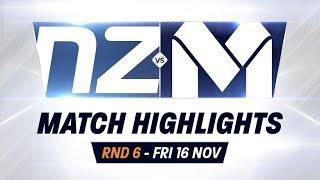 Rd 6: Melb Utd vs. NZ Breakers - Full Highlights