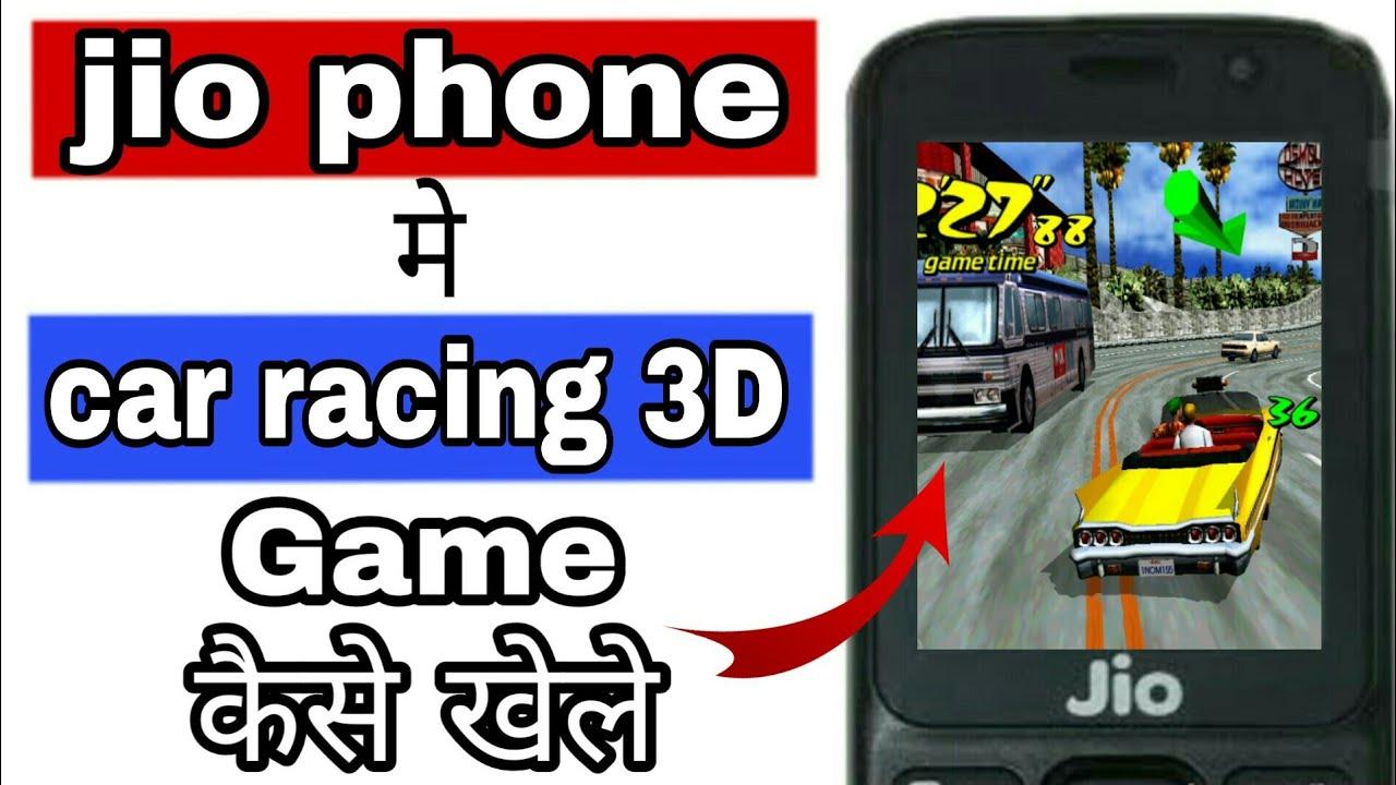 Jiophone Me Car Racing 3d Games Kaise Khele How To Play Racing