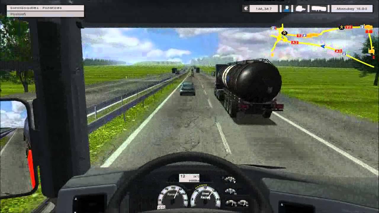 Euro Truck Simulator Piotrkow Trybunalski Poznan 1 2 Eu Map
