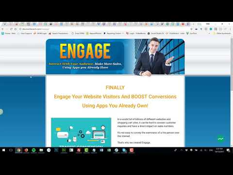 Installing And Using Engage Live Web Chat