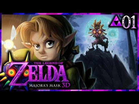 Let's Play The Legend of Zelda: Majora's Mask 3D - Part 1 - A Terrible Fate