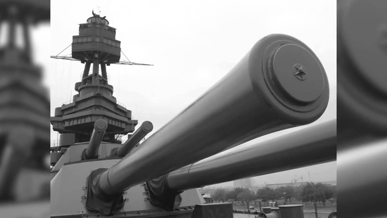 The USS Texas BB 35 on D Day