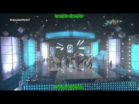 SS501 - Love Like This [Music Bank] (09.11.27) {Hangul, Romanization, Eng Sub}