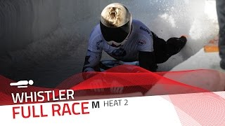 Whistler | BMW IBSF World Cup 2016/2017 - Men's Skeleton Heat 2 | IBSF Official