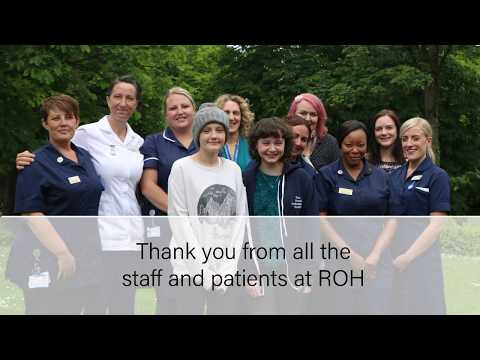 Bone Cancer Research Trust funding at The Royal Orthopaedic Hospital