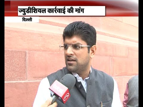 Interview: Dushyant Chautala on reservation stir in Haryana