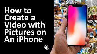 Het maken van een VIDEO met FOTO ' s en Muziek op een iPhone - makevideo met Travelvids 2019 Tutorial