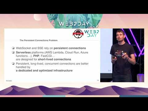 Mercure: UIs always synchronized with data in database - Web2day