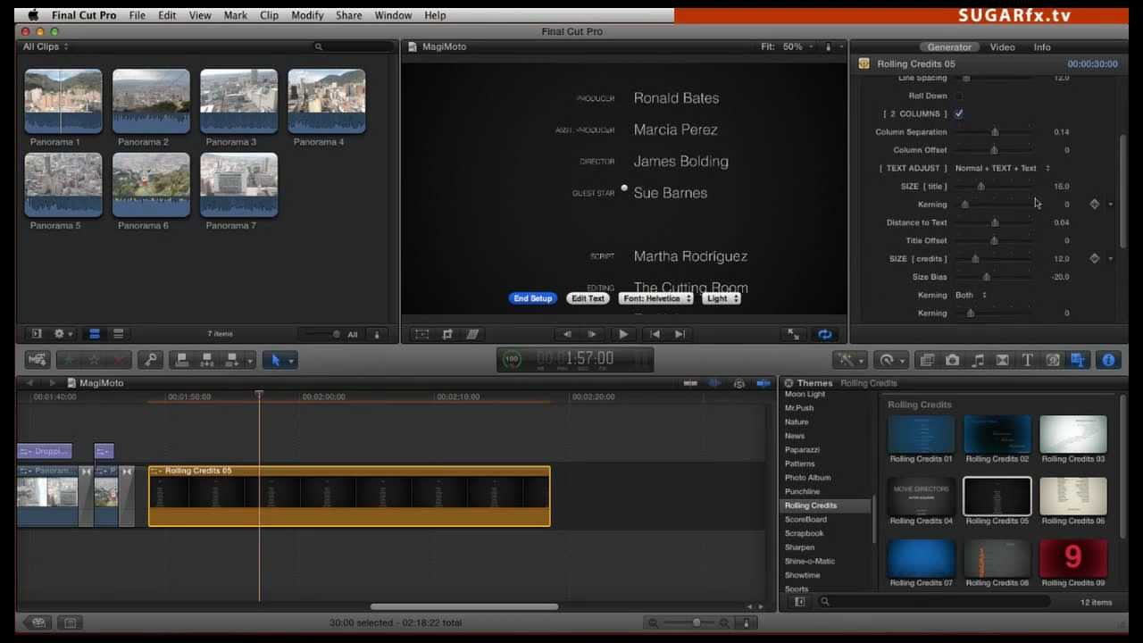 rolling credits tutorial for final cut pro x youtube rh youtube com Sony Digital Camera Manual Employee Training Manual