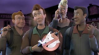 The Real Ghostbusters Intro - 3D Remake