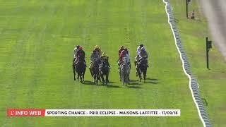 Vidéo de la course PMU PRIX ECLIPSE