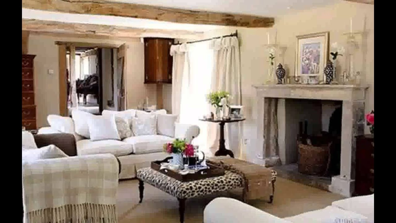 English Country Living Room New Pictures - YouTube