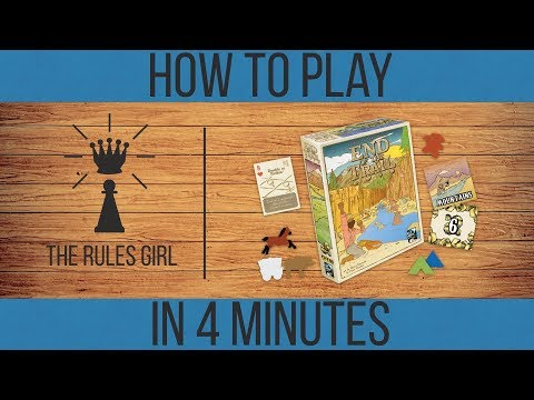 How to Play End of the Trail in 4 Minutes - A Rules Girl Kickstarter Tutorial