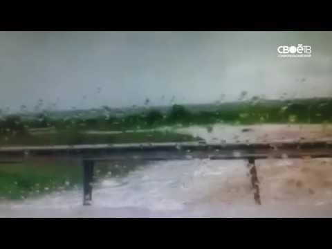Затопило дорогу Невинномысск - Ставрополь