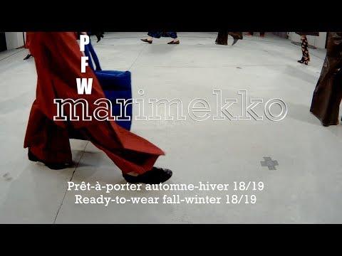 Marimekko - Paris Fashion Week : BEFORE/AFTER : Episode 7 - Finnish Winter Landscapes