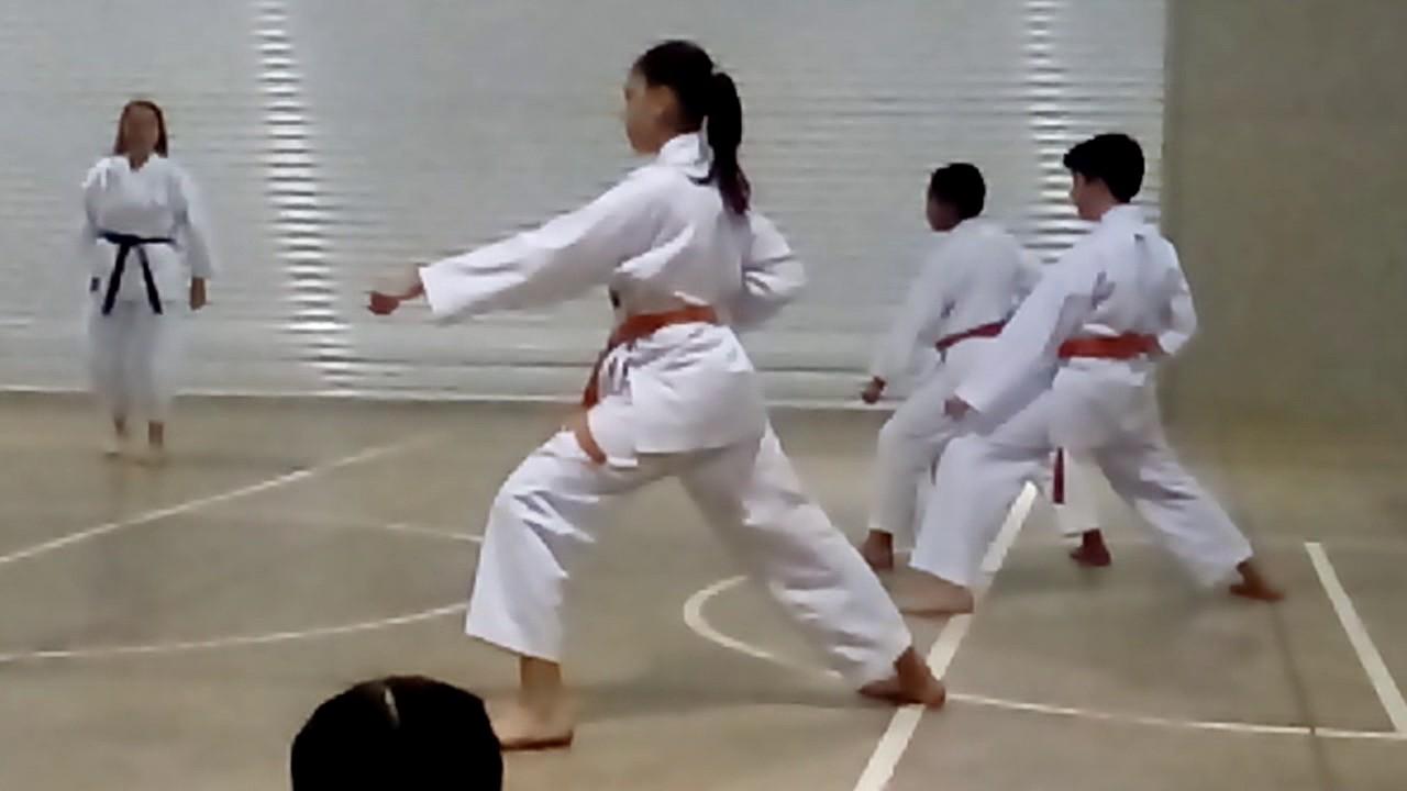 Examen De Karate Cinta Naranja A Verde Youtube