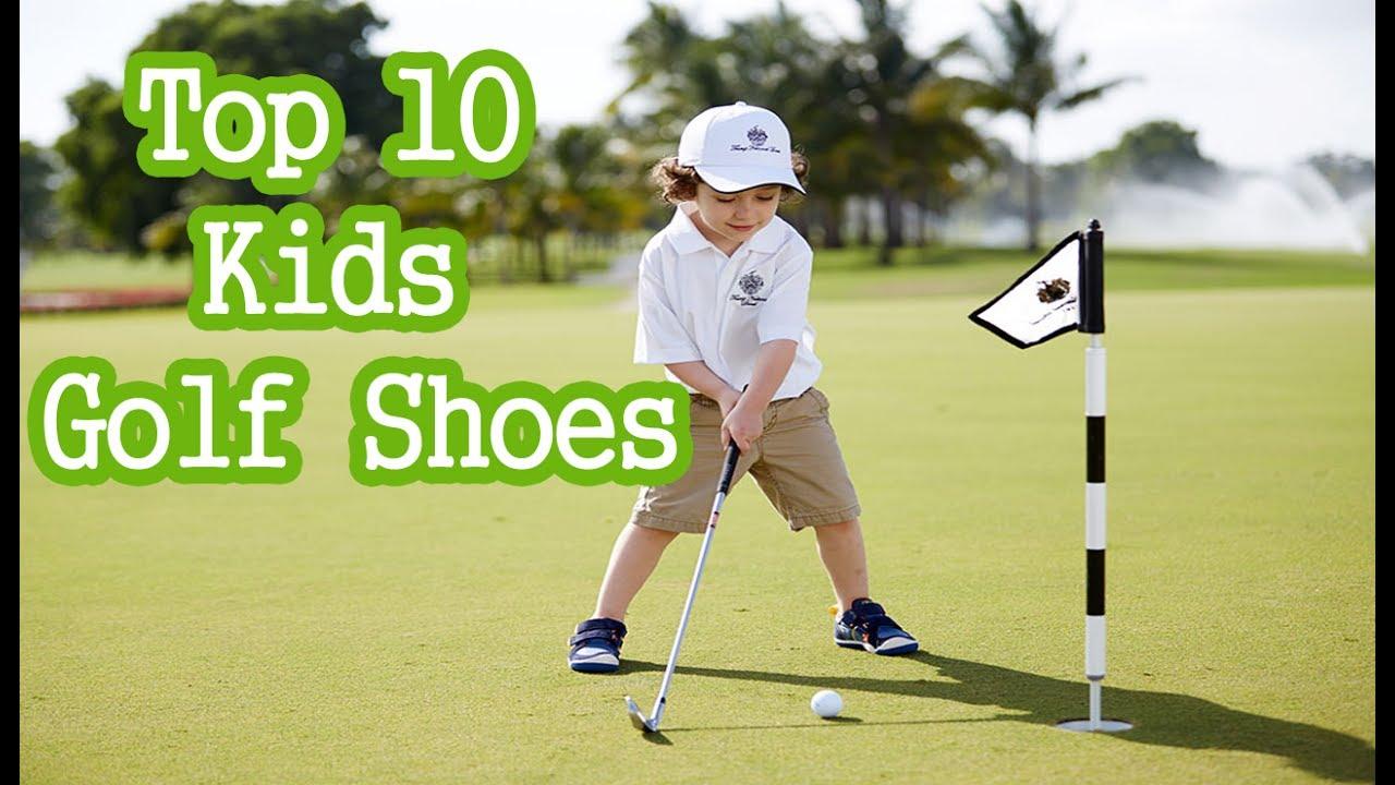 Best Junior Golf Shoe For Kids In 2017 Youtube