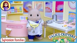 Sylvanian Families Calico Critters Country Doctor Set Up Review Play - Kids Toys