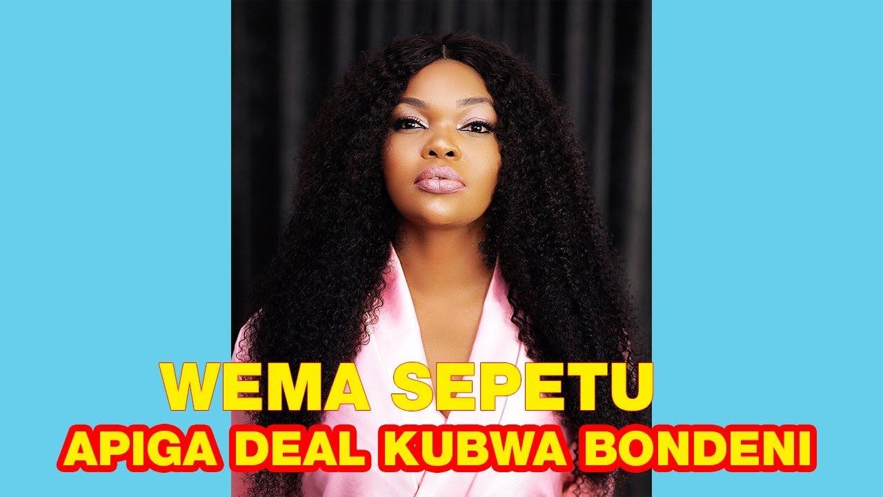 Download Baada ya kulizwa na IDRIS SULTAN WEMA SEPETU Apiga DEAL kubwa AFRIKA YA KUSINI