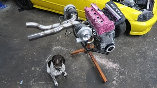 Download Assembling a 1000Hp Twin Turbo Honda Engine! Mp3 and Videos