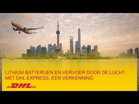 DHL Webinar: Lithium Batterijen en vervoer door de lucht met DHL Express, een verkenning