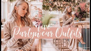 5 PARTYWEAR OUTFITS // A Festive Lookbook // Fashion Mumblr