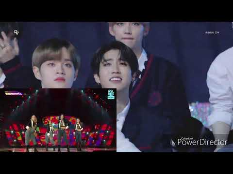 191116 Idols Reaction To Mamamoo Destiny And Hip VHEARTBEAT AWARDS VLIVE [STRAY KIDS, LEE DAEHWI]