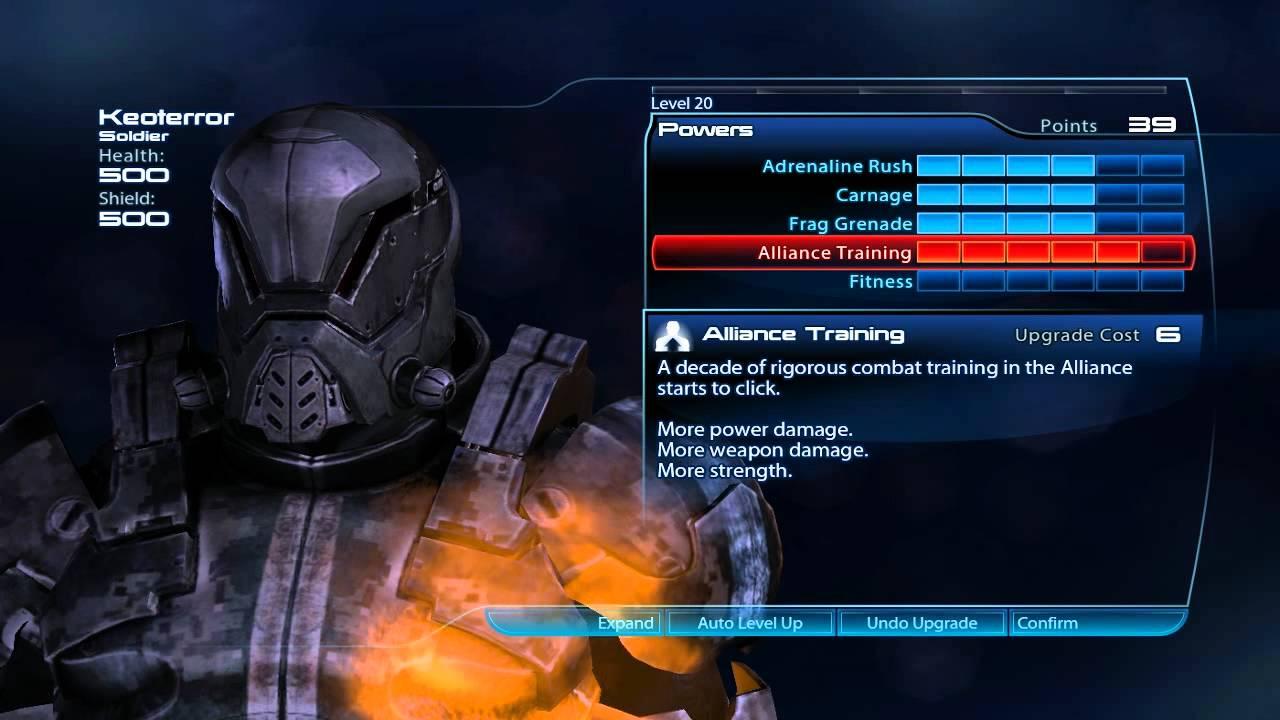 Mass Effect  Vorcha Soldier Build