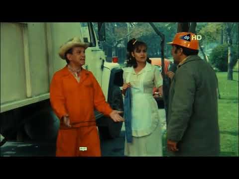 Cantinflas Celoso - Película El Barrendero 1982 - HD.