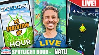 6,000 Checks & No Shiny - Natu Spotlight Hr | Pokémon GO