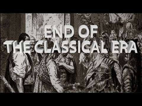 HIST 1111 - End of the Classical Era