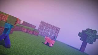 Minecraft Animation Intro ELECTRKC03 fire видео заставка для канала ютуб