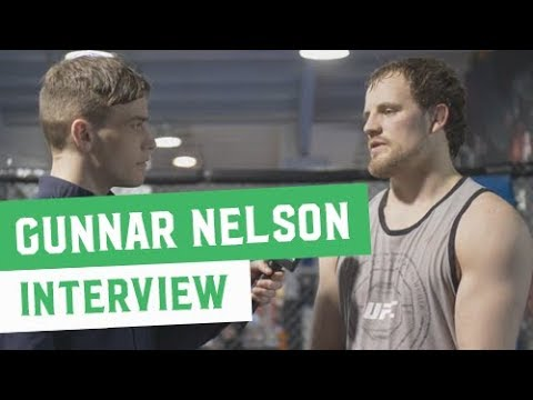 Gunnar Nelson Interview: Looking to Star on UFC Dublin