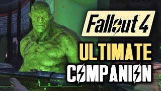 Fallout 4 Tips: Meet STRONG! The Best Companion! A Fallout 4 Guide with Gameplay