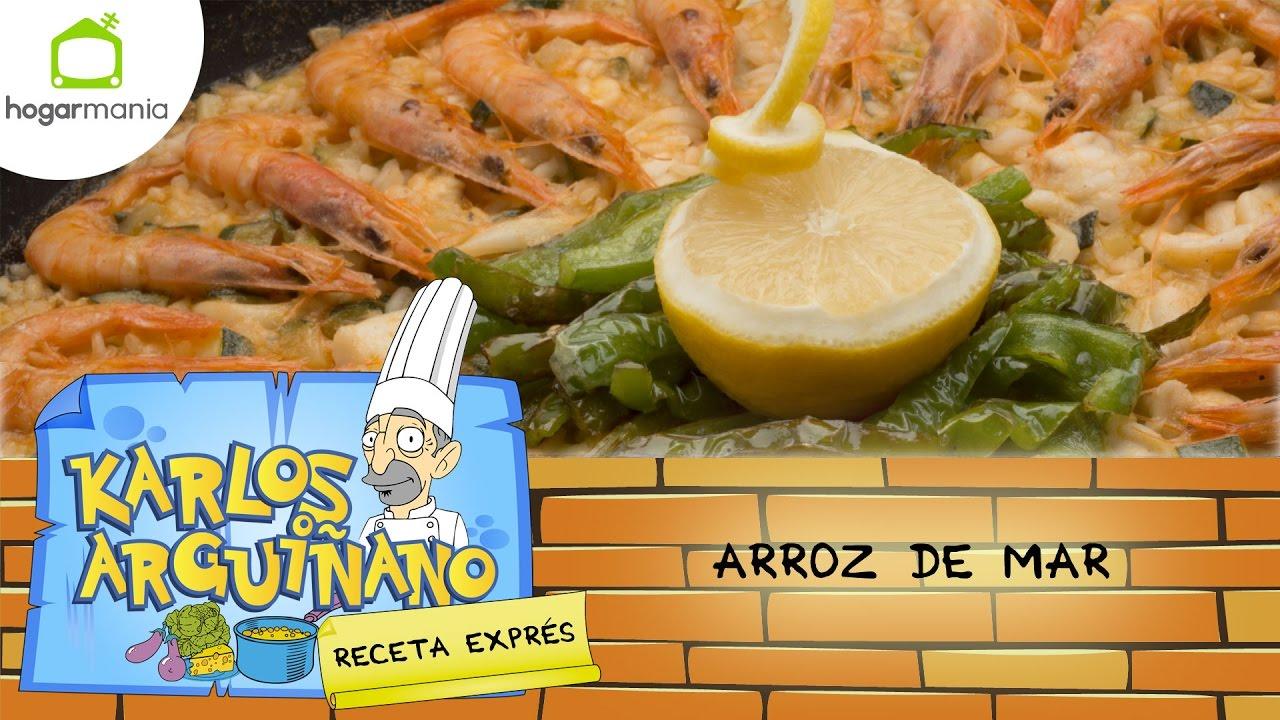 Recetas Cocina Karlos Arguiñano | Karlos Arguinano En Tu Cocina Receta De Arroz De Mar Youtube