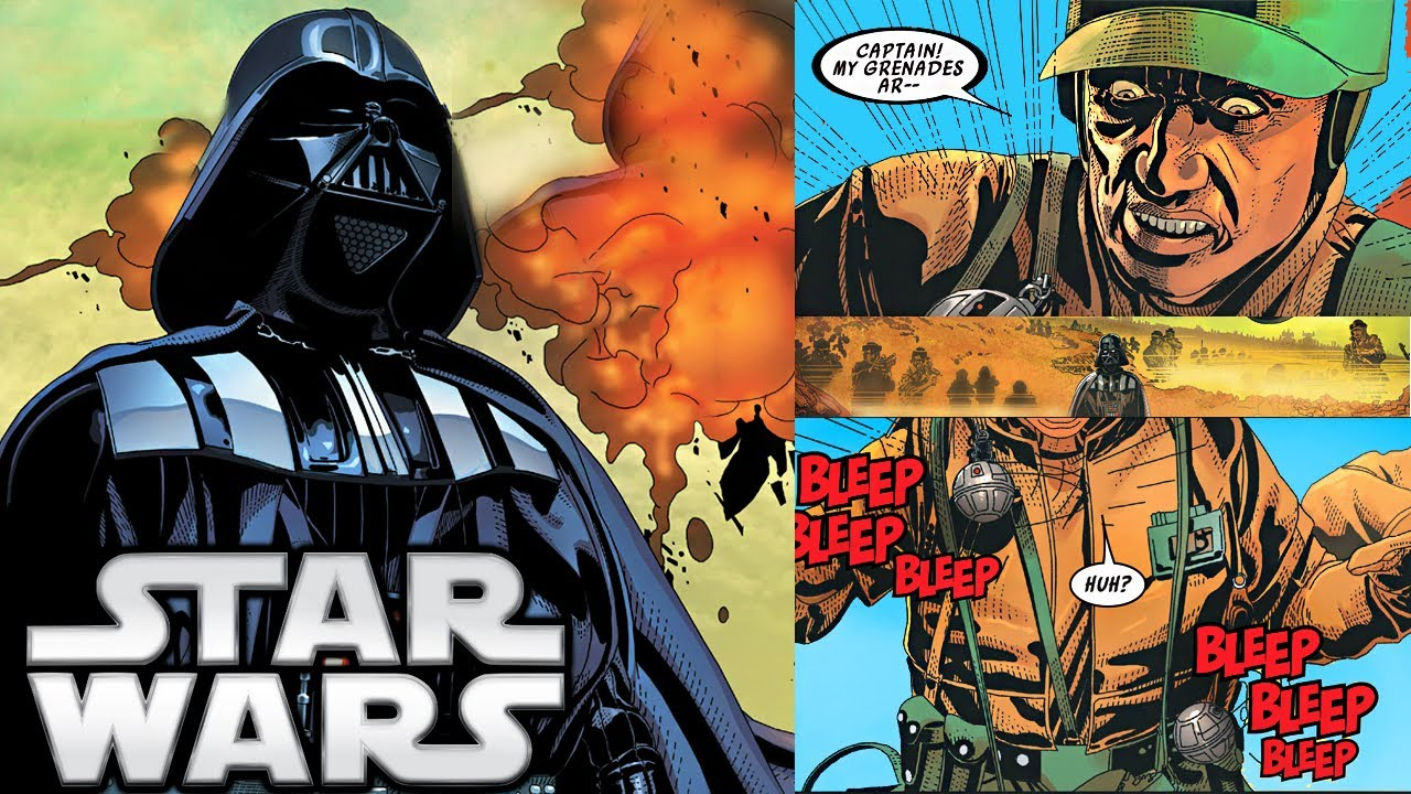 Darth Vader Canon Vs Ares Dceu: Darth Vader's RAGE Against The Rebellion's Army (Canon