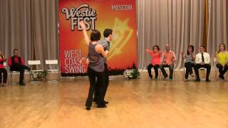 Open Strictly Swing Finals — Pierre & Albina. Moscow Westie Fest 2013