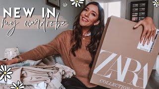 Zara Try On Haul (March 2020), At Home Workouts & Healthy Dinner Recipe! | Daily Grace