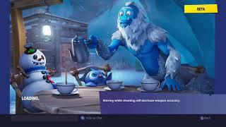 Fortnite All Season 7 loading screens and snowfall skin