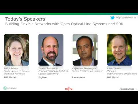 Building Flexible Networks with Open Optical Line Systems an