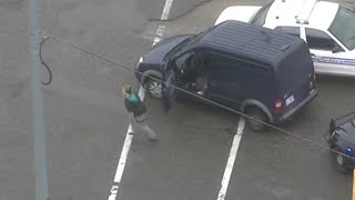 VIDEO: Police chase through Detroit