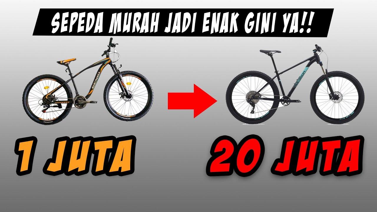 Update Tipis! Bikin Sepeda 1 Jutaan Jadi Enak