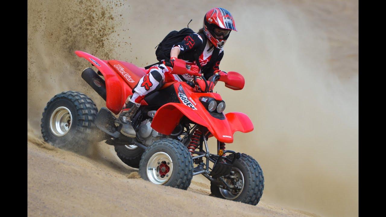 Honda Trx 250 >> ATV Sand pit video - Trx400ex & Raptor 250 - YouTube